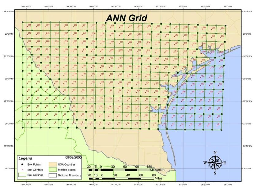 ANN Thunderstorm Grid